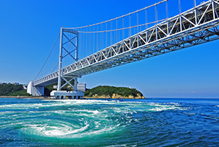 Great Naruto Bridge (Tokushima Prefecture)